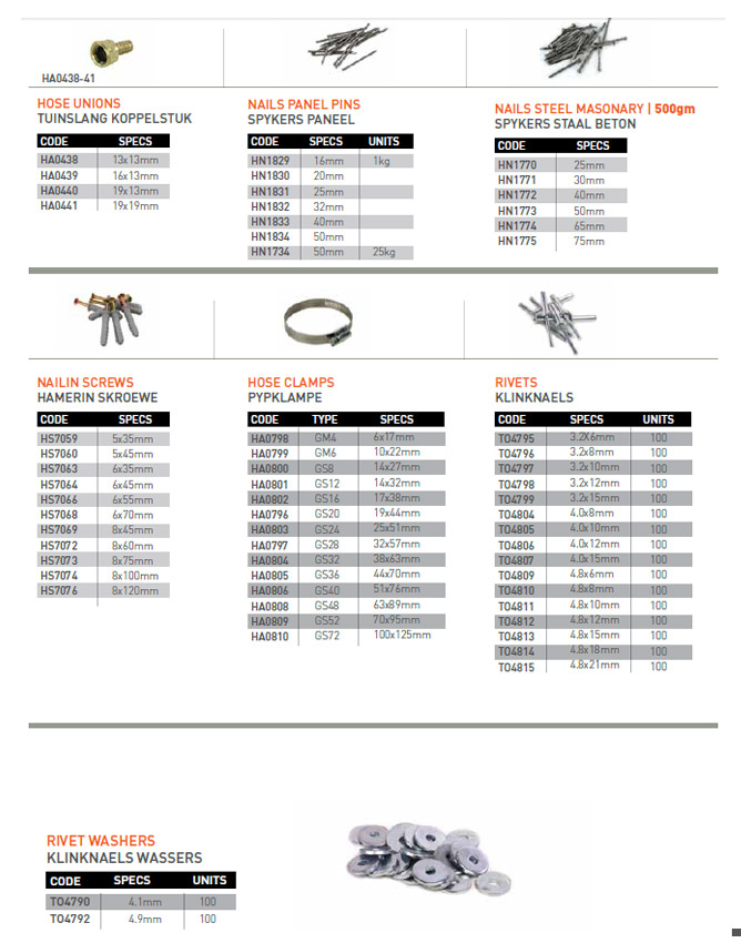 Fasteners Olco